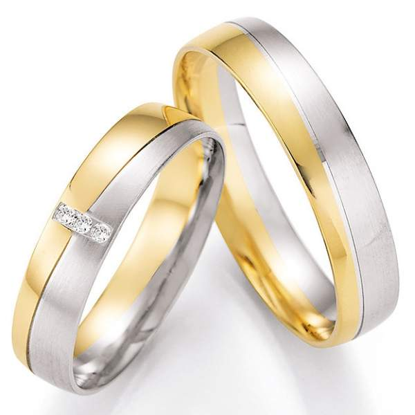 Trauringe Gold Honeymoon Pure Brillant 66-43070