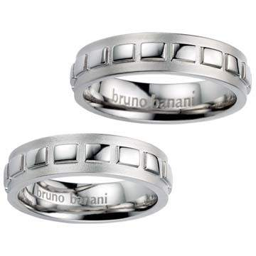 Partnerringe Bruno Banani Silber 44/86003