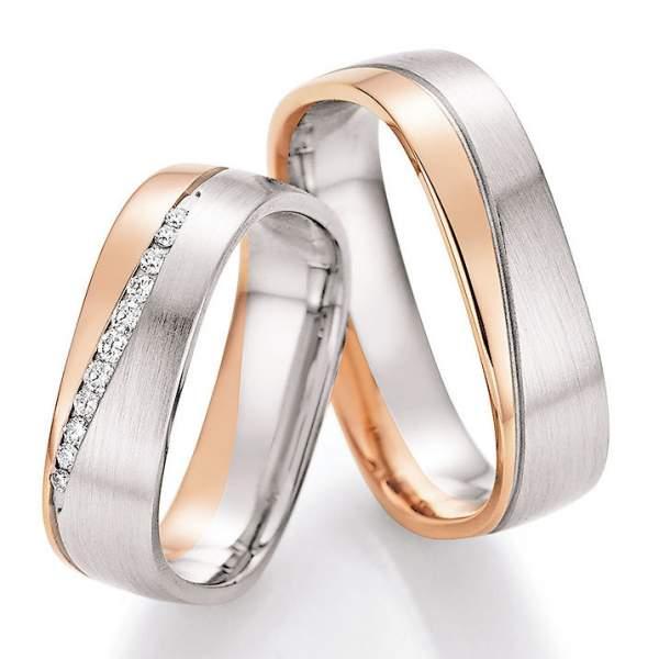 Trauringe Gold Honeymoon Solid Brillant 66-45130
