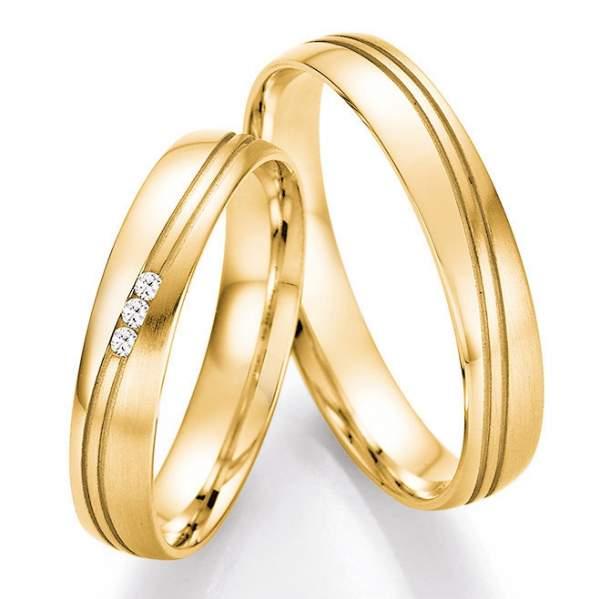 Trauringe Gold Honeymoon Pure Brillant 66-41030_GG
