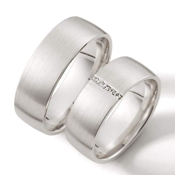 Verlobungsringe Silber Brillant Weidner 62051