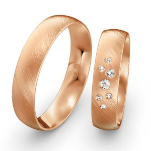 Eheringe-Rotgold-mattiert-mit-Diamanten