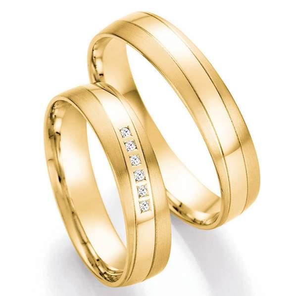Trauringe Gold Honeymoon Pure Brillant 66-41090_GG