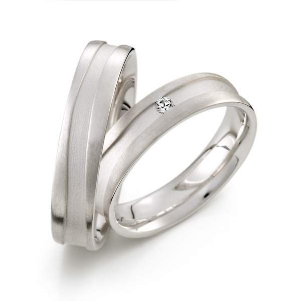 Verlobungsringe Silber Brillant Weidner 62213