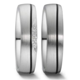 Trauringe-Schwarz-Silber-Carbon-Weissgold
