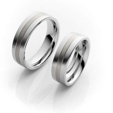 Verlobungsringe Steel Titan 68/06090