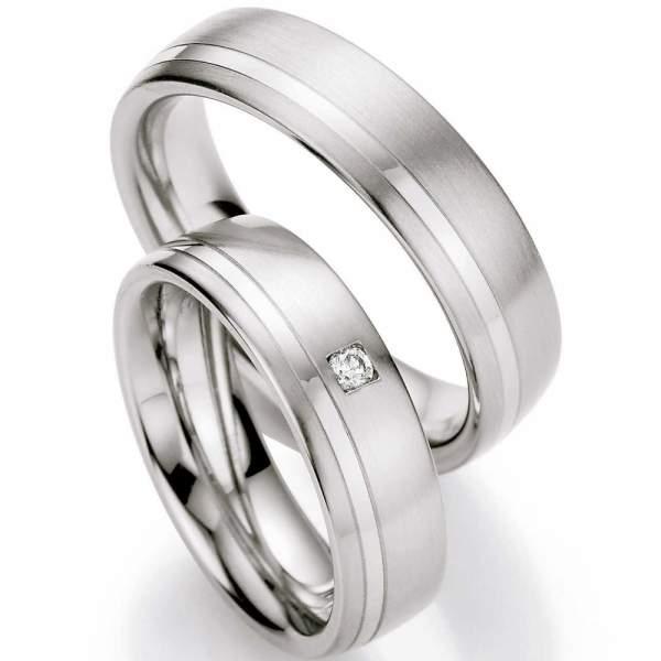 Verlobungsringe Steel Brillant 88/01230