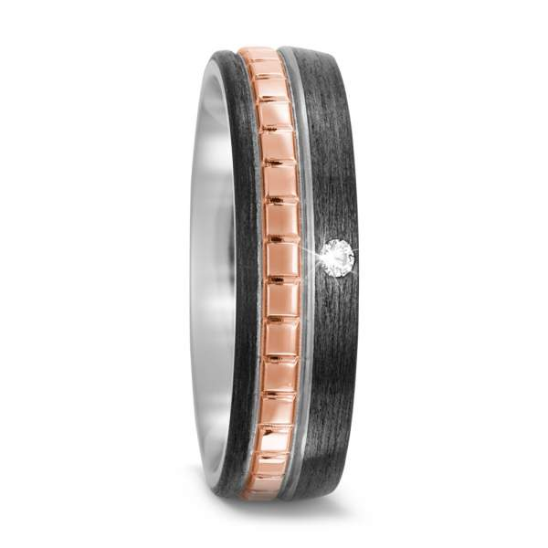 Antragsring Carbon Rotgold Titan Factory 52506