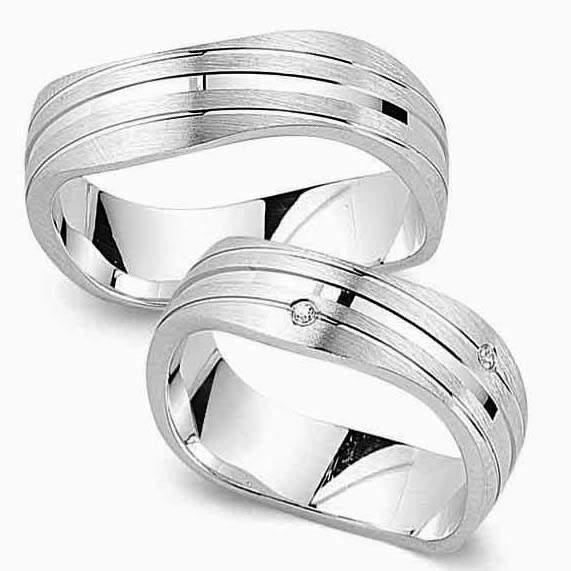 Verlobungsringe Silber Zirkonia Cilor G125