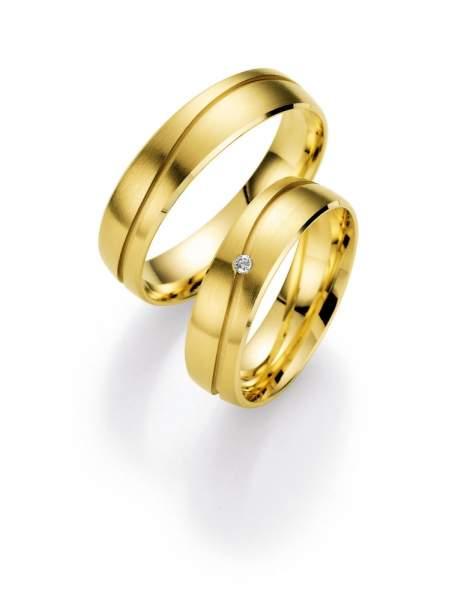 Trauringe Gold Honeymoon Selection Brillant 66-05060