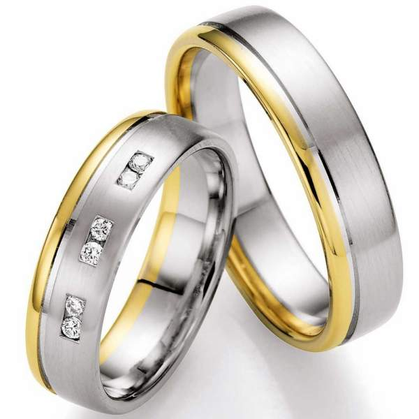 Trauringe Gold Honeymoon Selection Brillant 66-07050