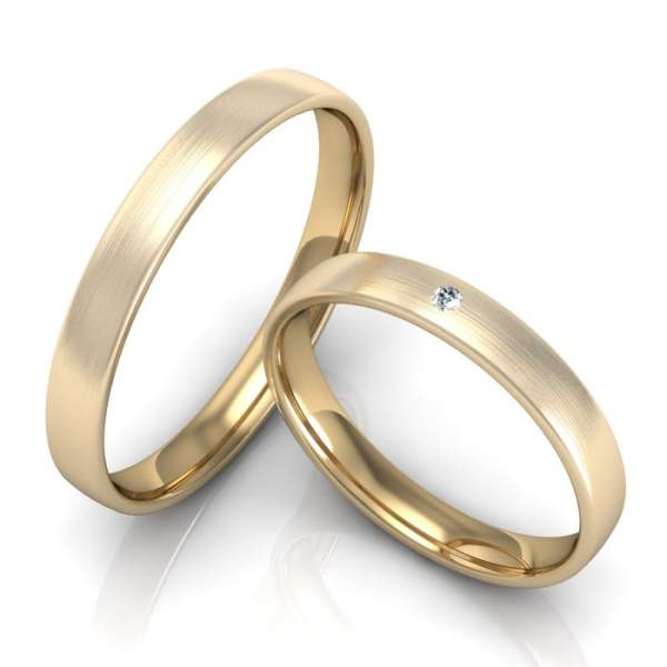 Verlobungsringe Gelbgold Brillant ID749