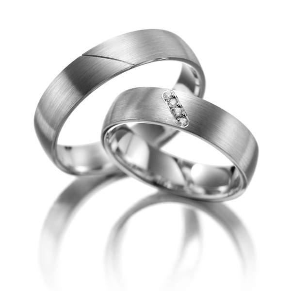 Verlobungsringe Silber Brillant Weidner 61058