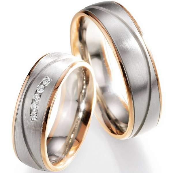 Trauringe Gold Honeymoon Selection Brillant 66-07090