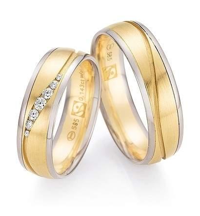 Trauringe Gold Fairtrade Brillant 33-30130