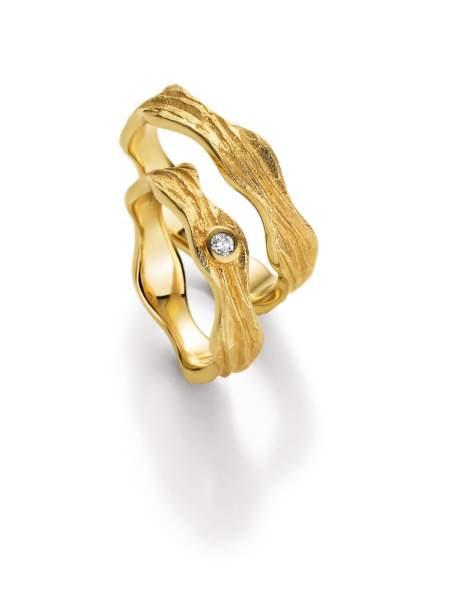 Trauringe Gold Honeymoon Vulcano Brillant 66-50090