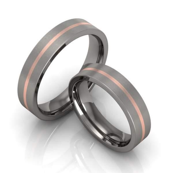 Verlobungsringe Titan Rotgold ID918