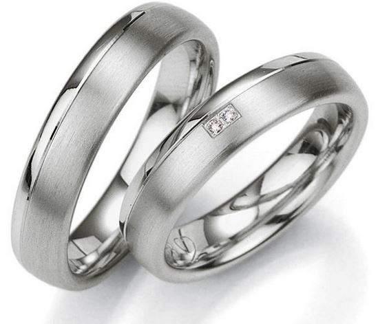 Verlobungsringe Silber Brillanten Breuning 48/08021