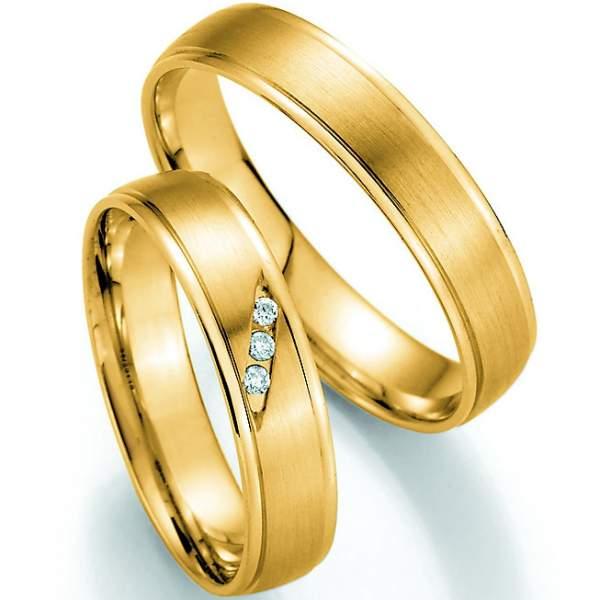 Trauringe Gold Honeymoon Pure Brillant 66-30110_GG