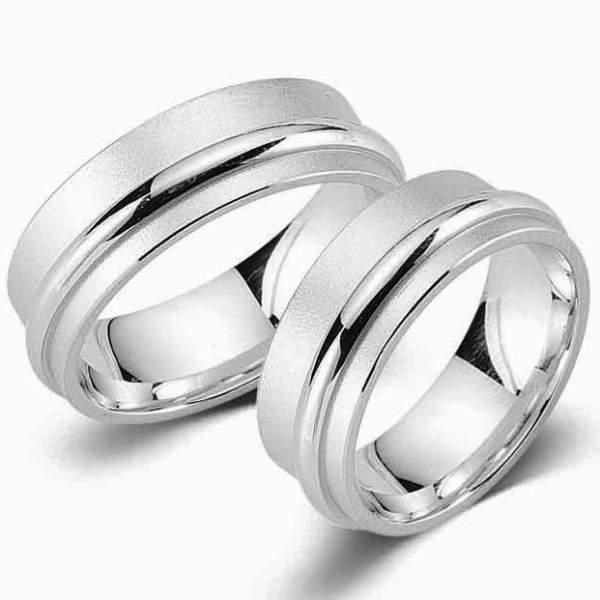 Verlobungsringe Silber Cilor G25