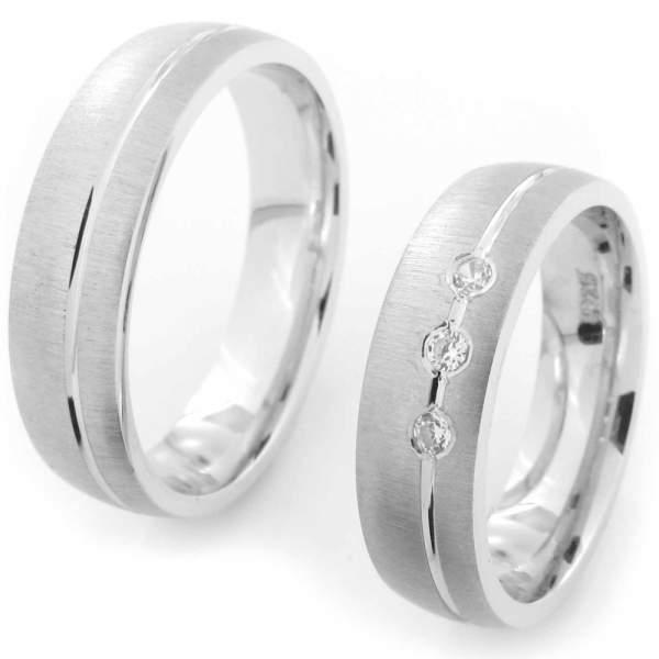 Verlobungsringe Silber Zirkonia CRG21