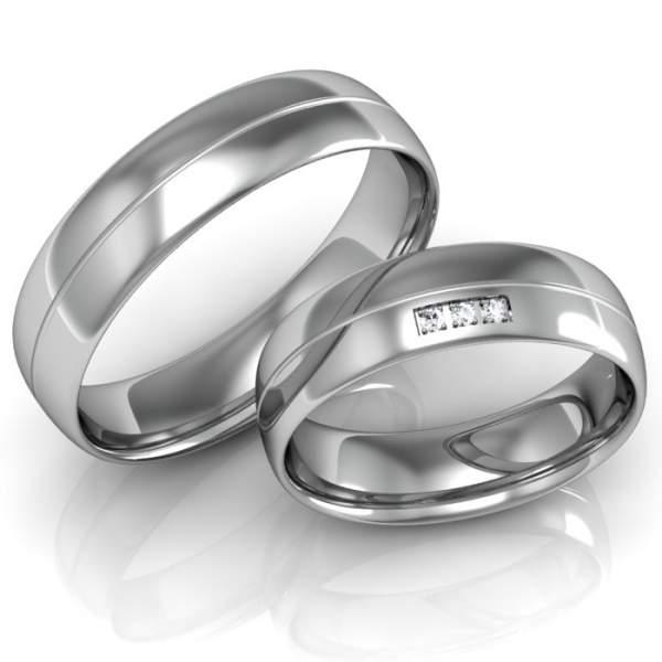 Verlobungsringe Silber ID660