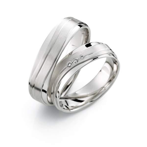 Verlobungsringe Silber Brillant Weidner 62614