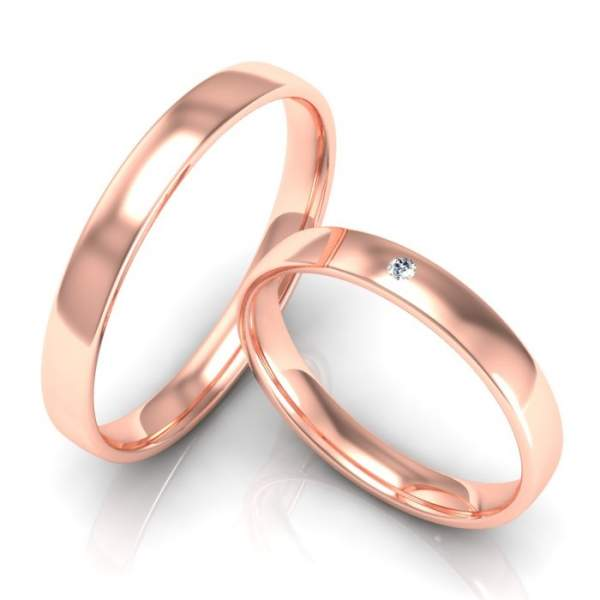 Verlobungsringe Gold Brillant ID751
