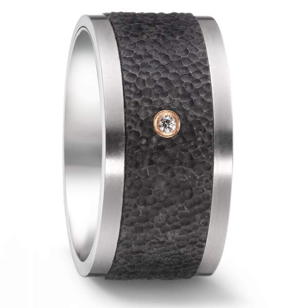 Antragsring Carbon Rotgold Titan Factory 52544