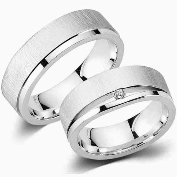 Verlobungsringe Silber Zirkonia Cilor G5