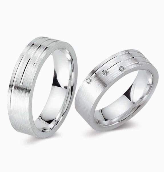 Verlobungsringe Silber Zirkonia Cilor G84
