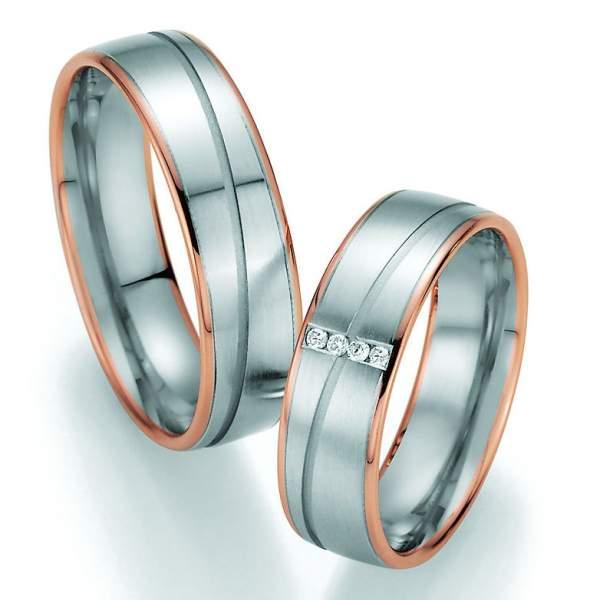 Trauringe Gold Honeymoon Variation Brillant 66-40010