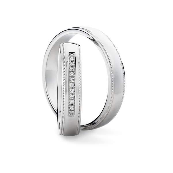 Verlobungsringe Silber Brillant Vintage 928491