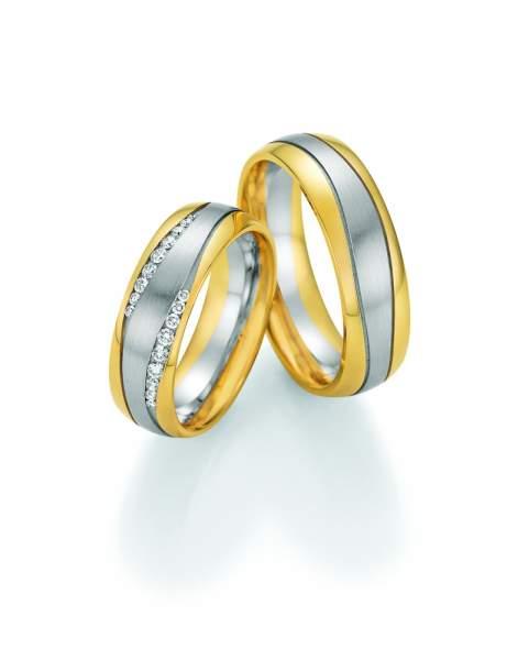 Trauringe Gold Honeymoon Premium Brillant 02-51170