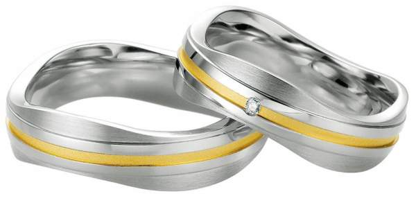 Verlobungsringe Silber Brillant Breuning 48/08033