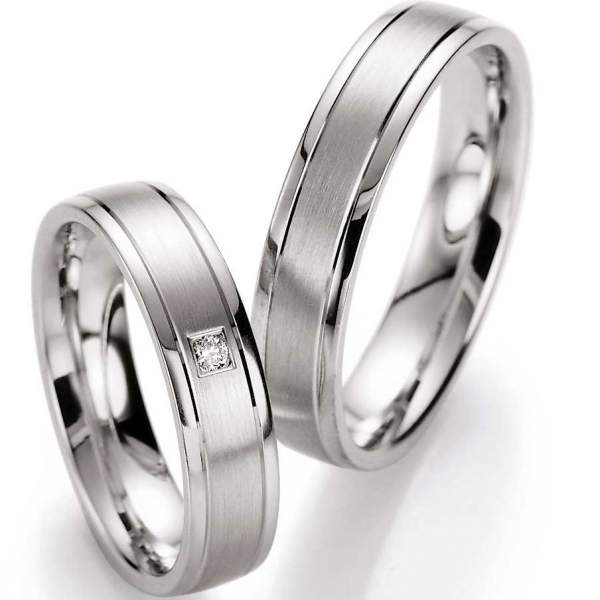 Verlobungsringe Silver Inspiration Brillant 55/10030