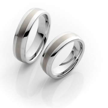 Verlobungsringe Steel Titan 68/06020