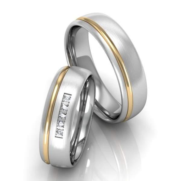 Verlobungsringe Silber Brillanten ID666