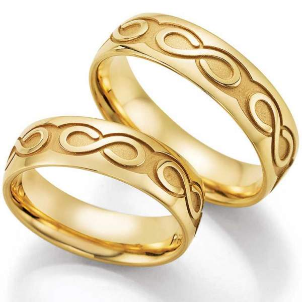 Trauringe Gold Hearts Love Infinity 66-38140