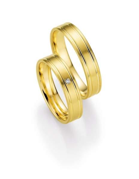 Trauringe Gold Honeymoon Selection Brillant 66-05170