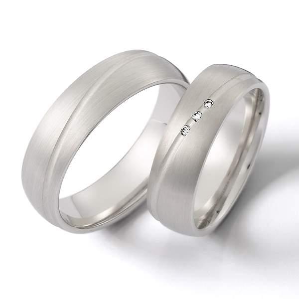 Verlobungsringe Silber Brillant Weidner 62138
