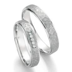 Trauringe Palladium Honeymoon Infinity Brillant 66-35150_PD
