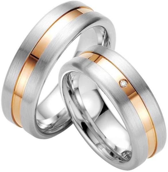 Verlobungsringe Silber Brillant Breuning 48/08027