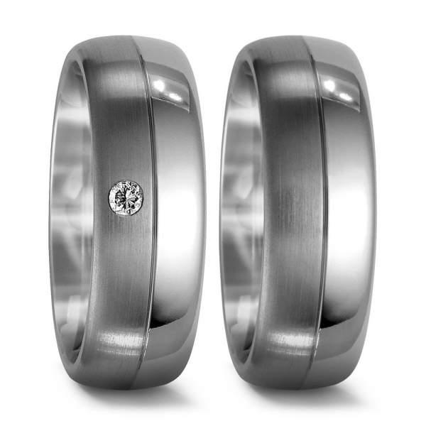 Verlobungsringe Brillant Titan Factory 51338