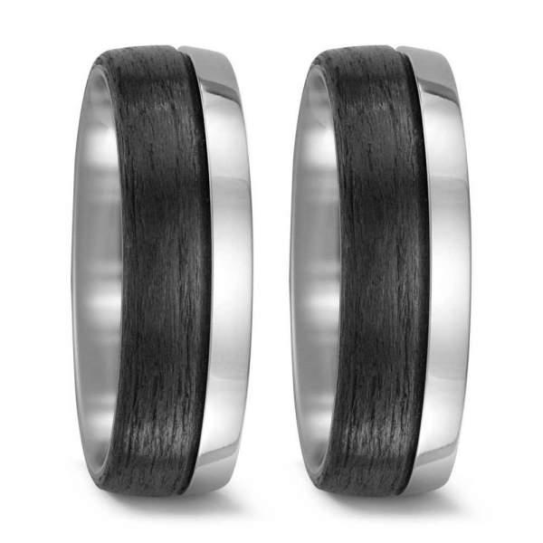 Verlobungsringe Carbon Titan Factory 52477