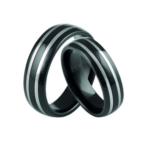 Verlobungsringe Wolfram Keramik Cilor 20050