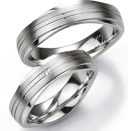 Verlobungsringe Silber Brillant Breuning 48/08013