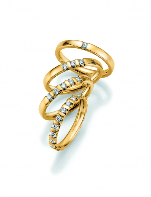 Memoire Ring Gold Gelbgold